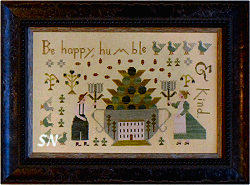 Be Happy Humble & Kind from With Thy Needle & Thread -- click to se lots more