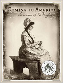 Coming To America - The Women of the Mayflower from With Thy Needle -- click to see lots more