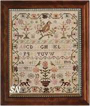 The Pink Sparrow Sampler from With Thy Needle & Thread - click for more