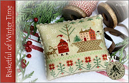 CS244 Basketful of Winter Time from With Thy Needle & Thread - click for more