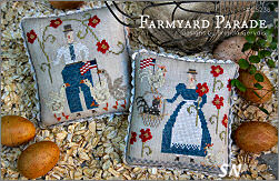 CS238 Farmyard Parade from With Thy Needle & Thread - click for more