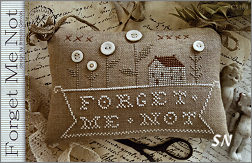 Forget Me Not from With Thy Needle & Thread - click for more