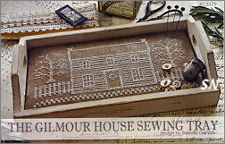 The Gilmour House Sewing Tray from With Thy Needle & Thread - click for more