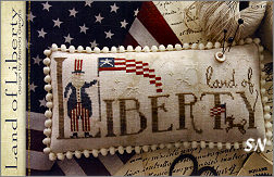 Land of Liberty from With Thy Needle & Thread - click for more