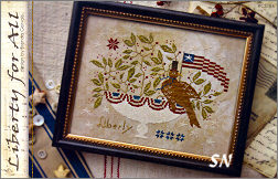 Liberty For All from With Thy Needle & Thread - click for more