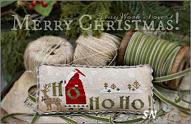 CS221 Merry Christmas from With Thy Needle & Thread - click for more