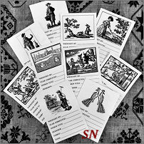 Needlework Labels from With Thy Needle -- click to see lots more