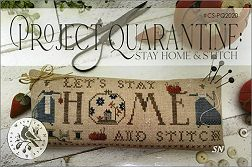 Project Quarantine: Stay Home & Stitch! from With Thy Needle -- click to see lots more