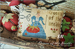 CS237 Queen of the Needle from With Thy Needle & Thread - click for more