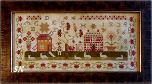 Shepherd's Sampler from With Thy Needle & Thread -- click to se lots more