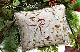 CS220 Snow Birds from With Thy Needle & Thread - click for more