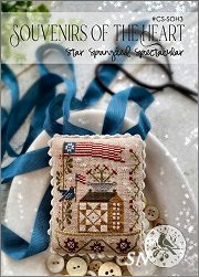 Souvenirs of the Heart - Star Spangled Spectacular  #CS-SOH3 from With Thy Needle -- click to see lots more