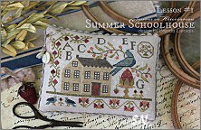 A New Summer Schoolhouse Series from With Thy Needle - click for more