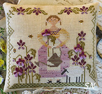 Sweet Violet from With Thy Needle & Thread - click for more