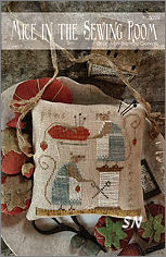 Mice in the Sewing Room from With Thy Needle - click for more
