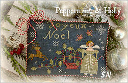 Peppermint & Holly from With Thy Needle & Thread - click for more