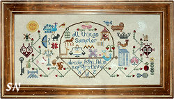 All Things Sampler from The Workbasket - click to see more