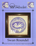 Swan Roundel from The Workbasket -- click to see a larger view