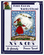 Here Comes Santa Claus from X's & Oh's - click for more